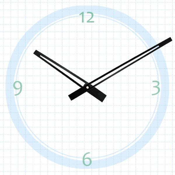 【鐘點站】 T162105 SUN機芯專用 / 分針 16.2 公分 時針 10.5 公分 / DIY 時鐘 掛鐘 鐘針