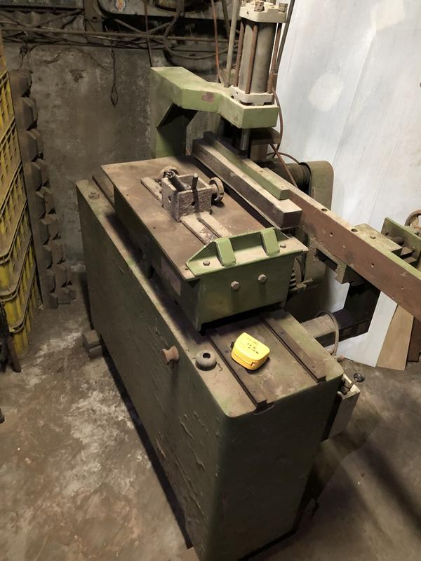 木工機械 快速切片機 氣壓夾具 馬力足 220V 可面交