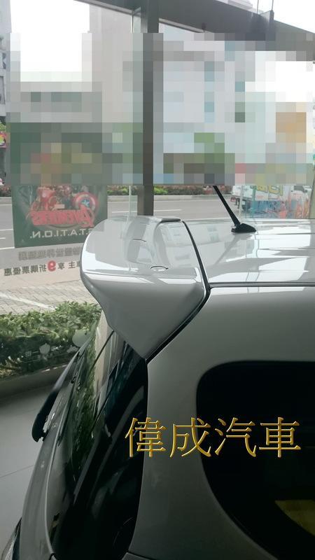 偉成汽車用品 # 豐田 TOYOTA 2016年~ SIENTA 原廠型 雙色 尾翼 鴨尾 擾流板 #