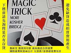 古文物THE罕見RABBI'S MAGIC TRICK MORE KOSHER BRIDGE英文橋牌書露天354 如圖