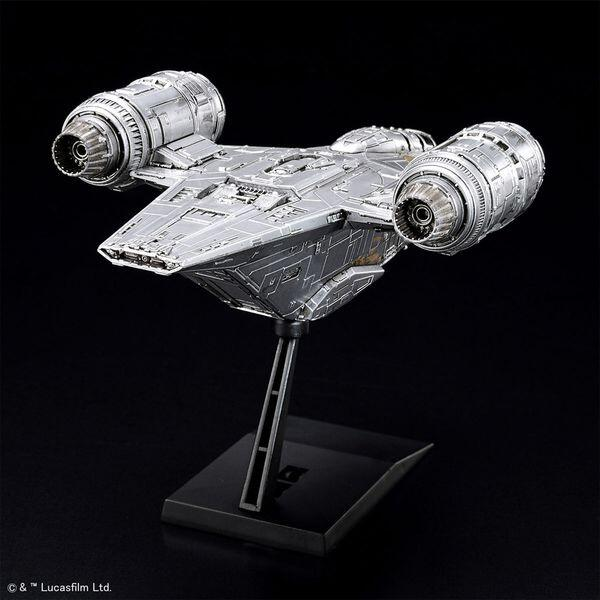 VEHICLE MODEL NO.EX018 STAR WARS 刀鋒之巔 銀色電鍍版,5061795