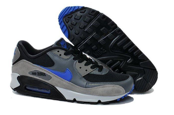 『doo』 耐克 耐吉 Nike Air Max 90 87 5108-148 灰黑藍40----4