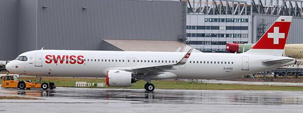 """《飛機殿》預購Jc Wings 1/200全金屬 瑞士航空A321NEO """"HB-JPA"""