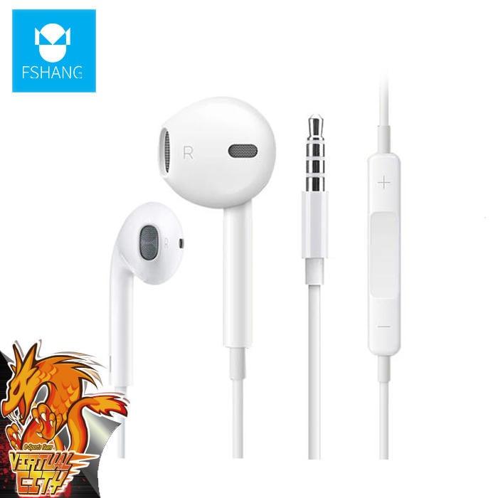 【桃園-虛擬城市】FSHANG 凡尚 A8 耳塞式耳機 入耳式 3.5mm鍍金插頭