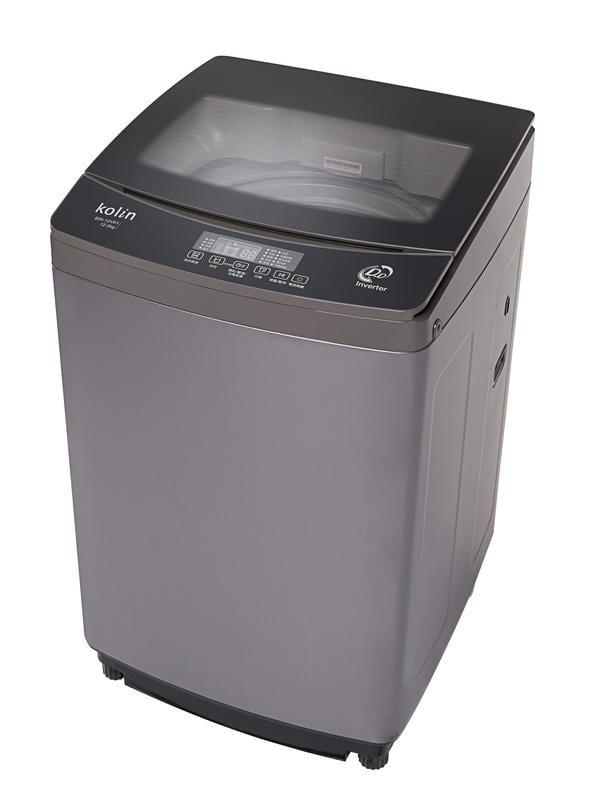 KOLIN歌林 12公斤 直驅變頻單槽洗衣機 BW-12V01(鐵灰)