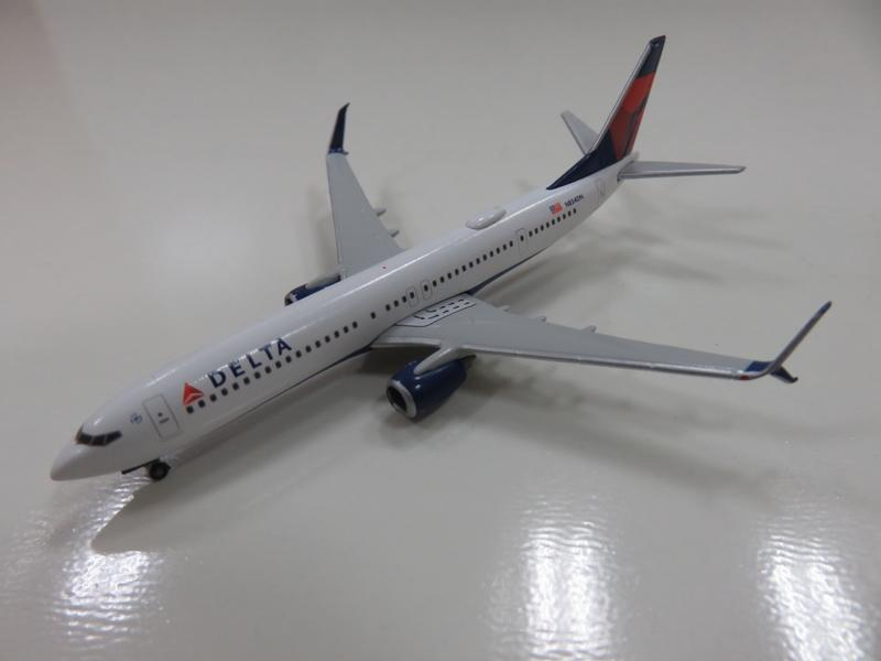 宗鑫貿易 1/500 Herpa Wings HW531382 Boeing 737 900 ER 達美航空塗裝