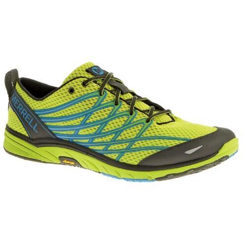 美國 Merrell 男 路跑鞋 健走鞋-萊姆黃 BARE ACCESS 3 原價2980 特價2300