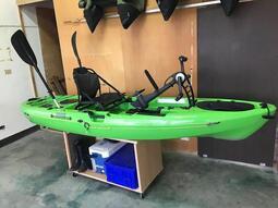 二手  腳踏 腳踩 獨木舟3米16  釣魚獨木舟 「阿蔡路亞」