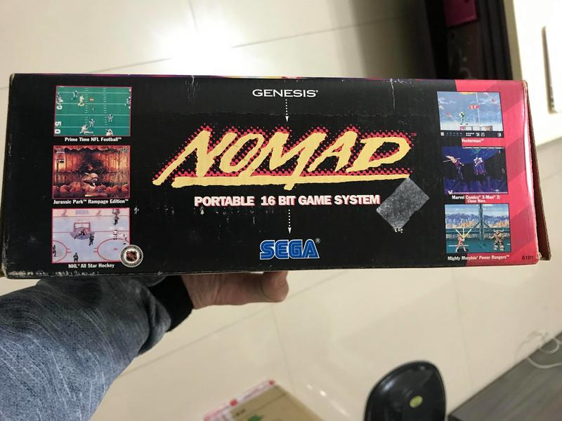 全新 SEGA NOMAD 掌上型 主機 可玩SEGA MD遊戲 已改LCD螢幕