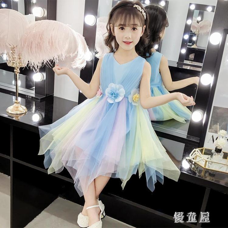大碼蓬蓬裙表演服裝 六一兒童演出服女男童中國風主持人禮服幼兒合唱服 qf24052❤❤--一級棒