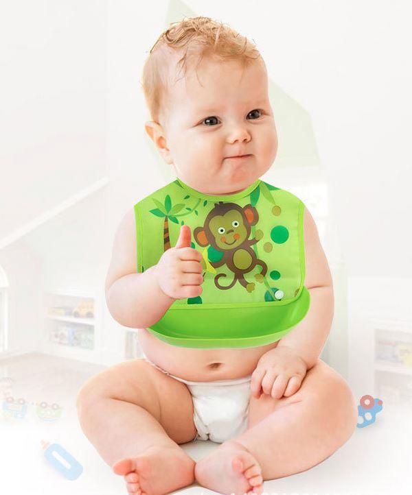 韓版 可拆洗 防硅膠 口水兜 寶寶 吃飯 圍嘴 新生兒 口水巾 立體 圍兜 新款 特價