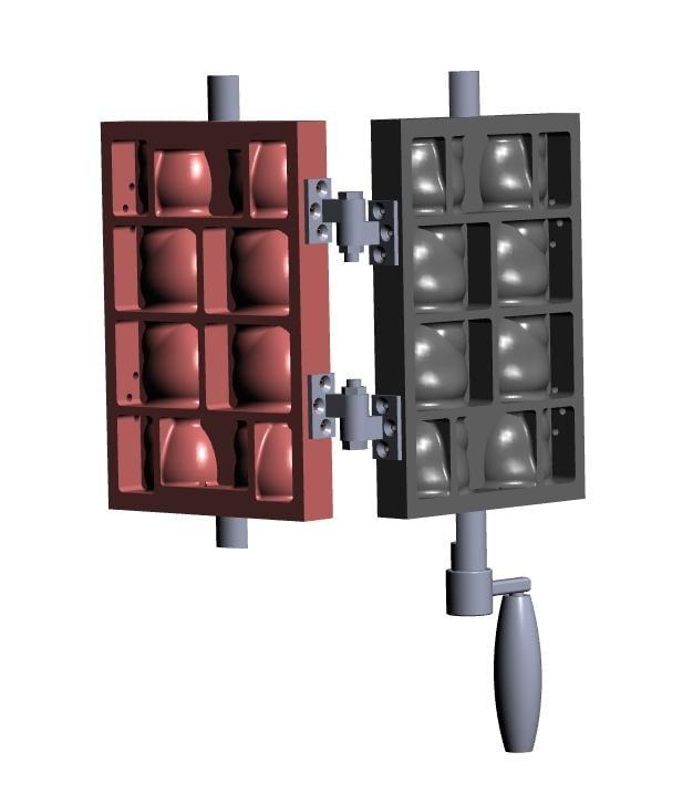 雞蛋糕 紅豆餅 特製模具 設計/製圖/開模 客製化