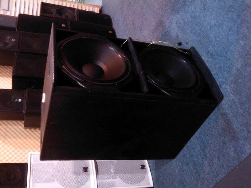 mizmor F218雙18吋超低音