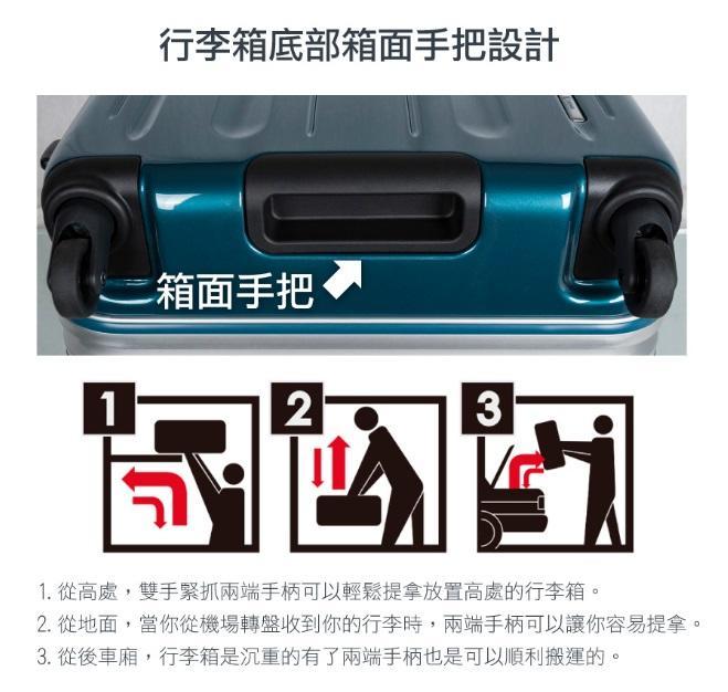 CROWN 26吋行李箱 LINNER (三色)【Chu Mai】趣買購物 鋁框拉桿箱(2019新色)