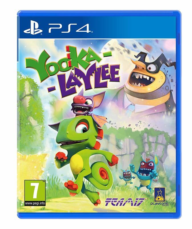 【電玩販賣機】全新未拆 PS4 尤卡萊莉大冒險 -英文亞版-Yooka-Laylee 蜥蜴 蝙蝠 阿邦阿卡大冒險 班卓熊