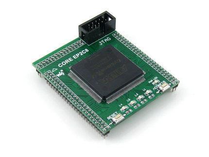【微控】含稅附發票、ALTERA FPGA 開發板 EP2C8Q208C8 NIOS II  附範例