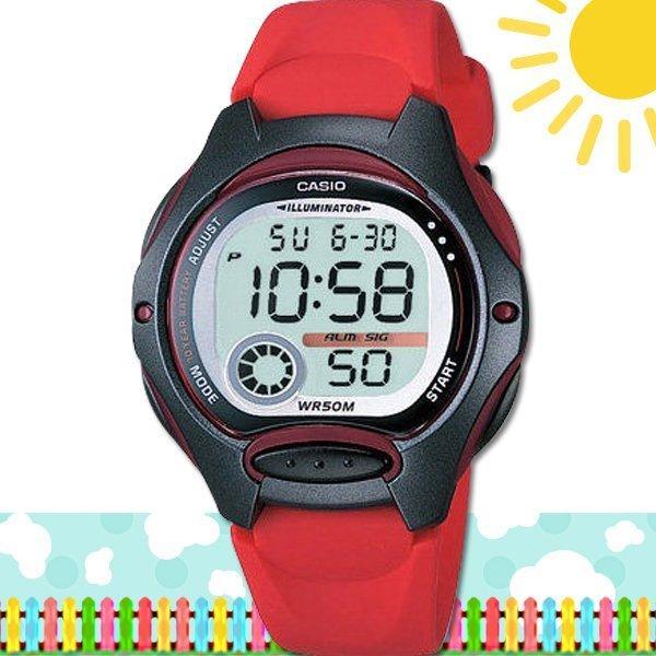 CASIO 時計屋 卡西歐手錶 LW-200-4A 數字錶 兒童錶 球面玻璃鏡面 保固 附發票