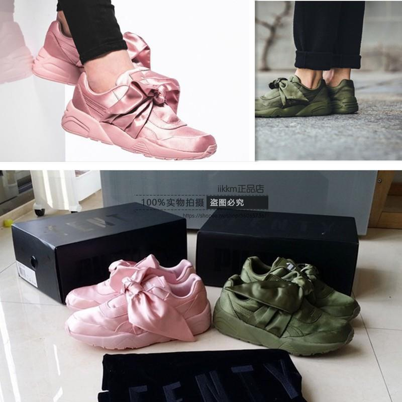 Puma X Fenty Bandana Slide 彪马 蕾哈娜 蝴蝶结 女生必備 潮流 韓版女鞋 時尚休閒鞋