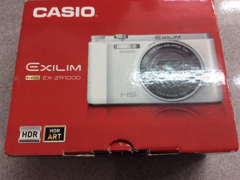 【明豐相機維修 】[保固一年] CASIO ZR1000 掀背式螢幕高速連拍機 便宜賣 zr1500 zr3600