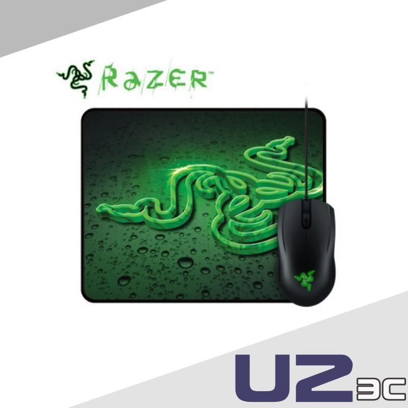 台灣公司貨附保固卡有保固  盒裝 雷蛇 Razer 地獄狂蛇 滑鼠 + 重裝甲蟲 鼠墊