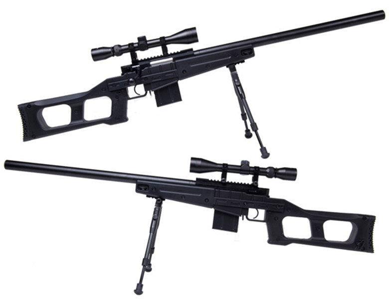 2館 WELL 4408 狙擊槍 手拉 空氣槍 (BB槍BB彈玩具槍長槍模型槍步槍卡賓槍馬槍瞄準鏡腳架