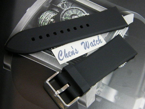 錶帶屋 22mm 24mm 26mm 28mm素面PU 沛納海  SEIKO FORTIS