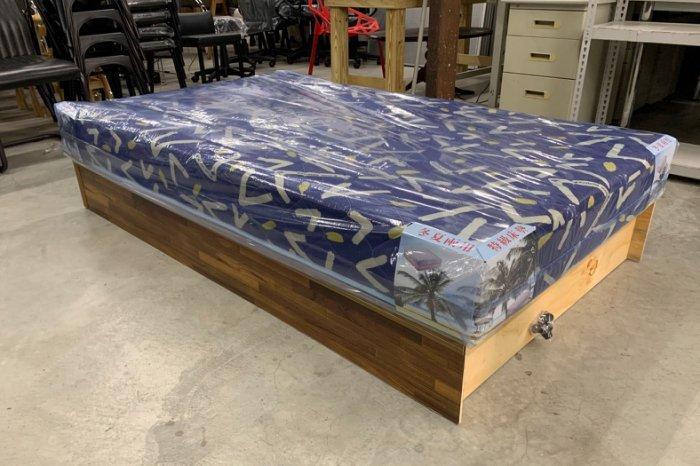 永達二手傢俱生活館/全新單人3.5尺床組/全新單人加大床組/全新床箱+床墊/床底/彈簧床/各種尺寸可詢問/七色可選