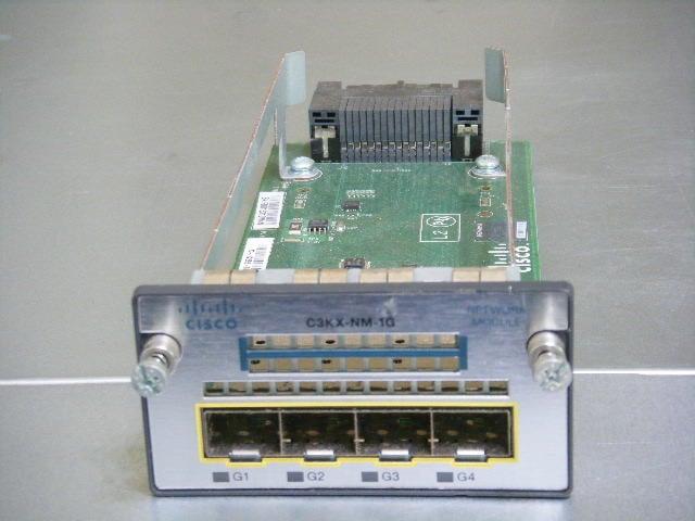 Cisco C3560X/C3750X系列用 NM-1G Network Module