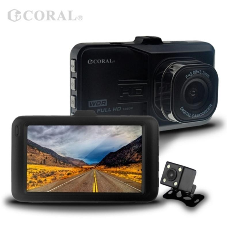 【限量 送8G】 CORAL D6 高畫質 1080P 前後雙鏡頭 行車記錄器 另售 M6 R2