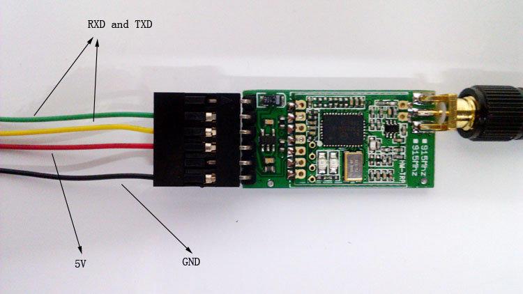[現貨] 3DR 數傳連接線 Telemetry adapter cable for APM 2.5  20cm