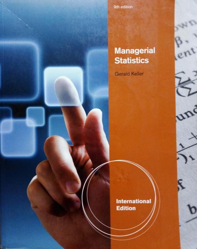 Managerial Statistic (Gerald Keller 9th edition )