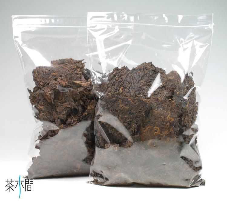 茶水間/散塊福袋-250克/陳年普洱茶/熟茶/通過農藥殘留檢驗/一定瘦作者推薦/限面交