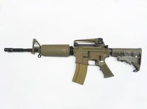 WE M4A1 全金屬 M4 步槍 CO2槍 沙(卡賓槍BB彈GBB槍CO2長槍直壓槍模型槍狙擊槍衝鋒槍狙擊槍