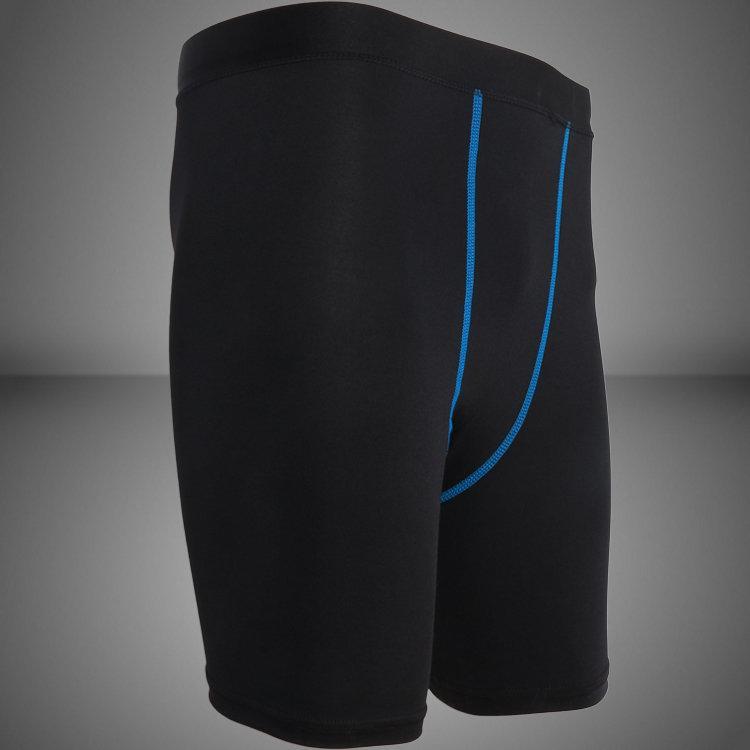 黑藍短褲 男 女 跑步 健身 瑜珈 籃球 壓縮褲 緊身褲 束褲 內搭褲 跑步壓縮褲 籃球緊身褲 2XU CW-X 可參考