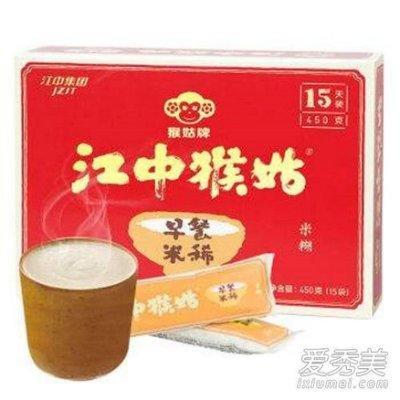【小p的店】預購 江中猴姑 早餐米稀15天袋装 营养米糊450g