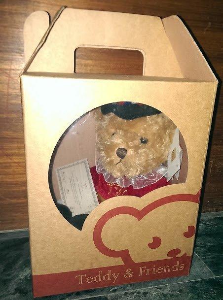 英國保誠人壽泰迪熊 2007年款 可換物價600