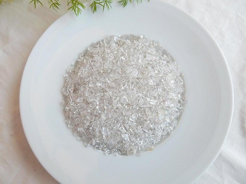【2075水晶礦石】白水晶碎石(細)(300g)