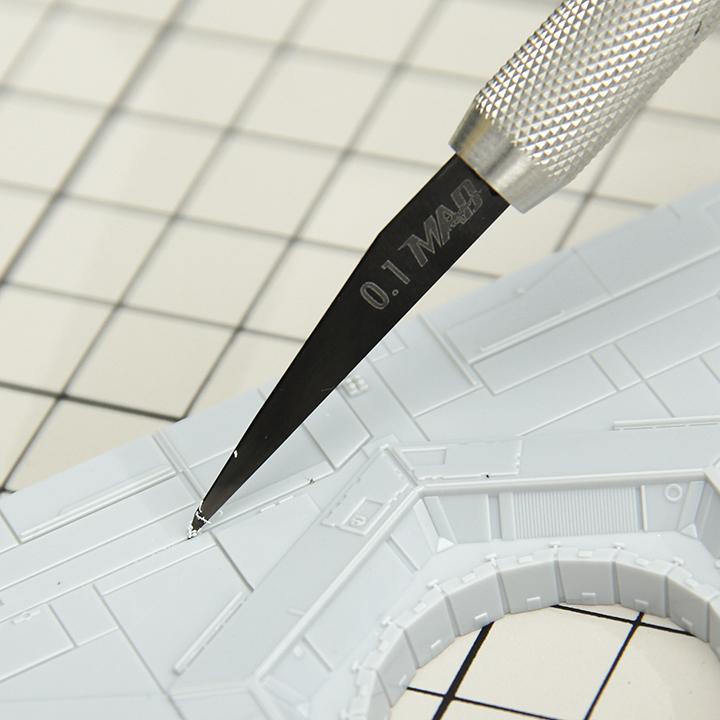 《密斯特喬》MADWORKS DLC類鑽石塗層替換式雕刻刀 刻線 (0.15/0.2/0.3/0.4/0.5) 少量現貨