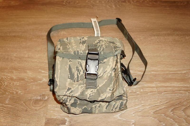 全新美軍公發 USAF ABU 虎斑迷彩斜背萬用袋