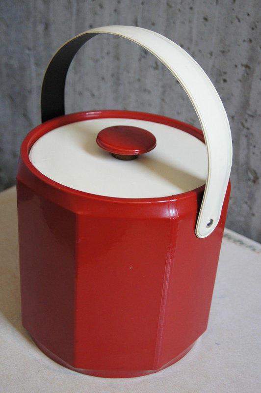 【107】復古普普風冰桶 / 偉士牌復古工業普普太空古董loft電影道具佈置