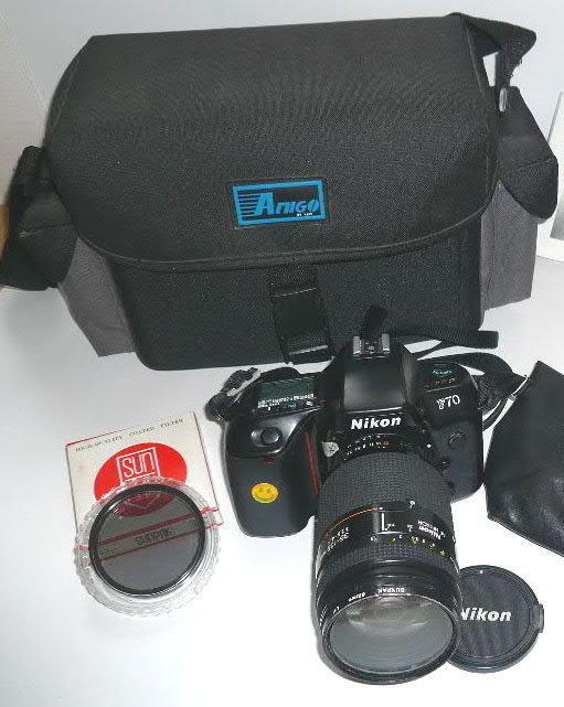 NikonF70單眼相機