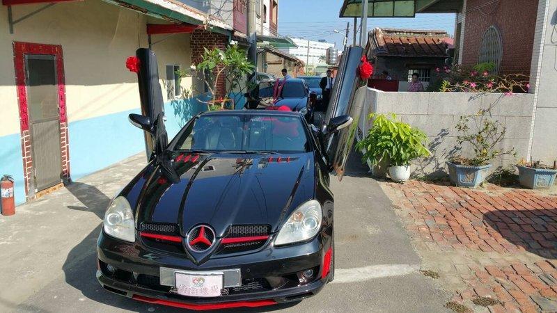 [台南DIY Shine自助洗車]06年 BENZ R171 SLK200 (歐規)