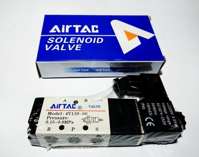 ★柯南零件★ 電磁閥 (AIRTAC) 4V110-06 AC220V  售價350元