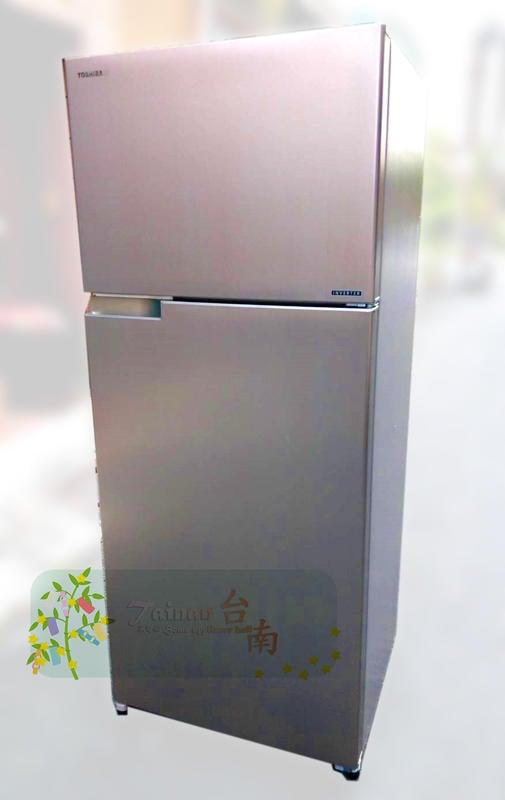 台南家電館~TOSHIBA東芝510公升變頻雙門冰箱《GR-A55TBZ(N)》無邊框節能~運送500元