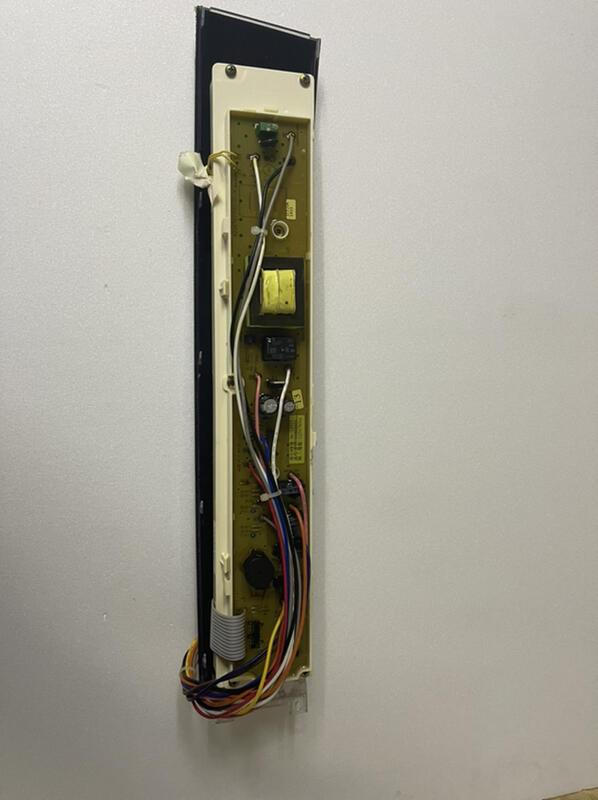 三洋變頻洗衣機sw-13dv5 13dv5g 13du6g電子控制面板電子基板電腦板電路板IC板中古