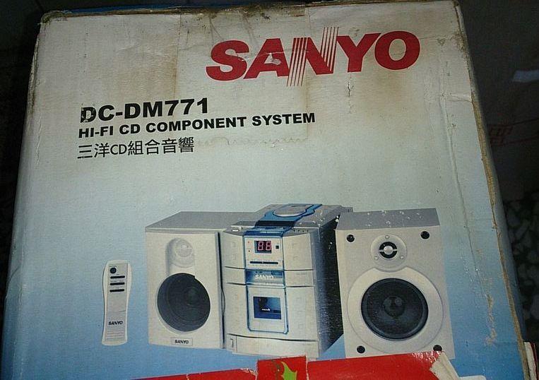 抽獎 全新未拆封三洋cd組合音響 Sanyo DC-DM771
