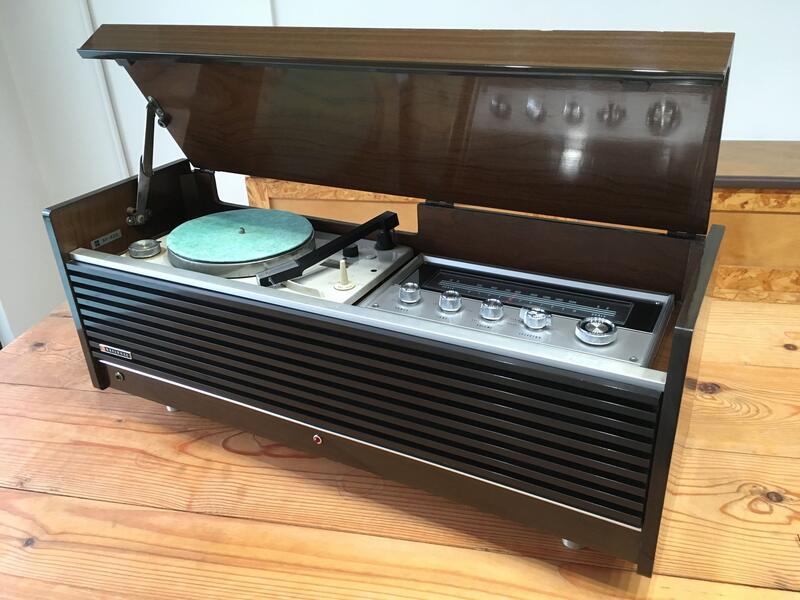 [已售出]昭和 松下 National SF-830 骨董真空管黑膠唱機