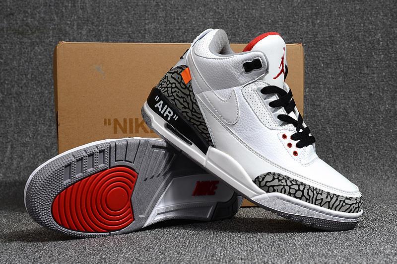 Nike Air Jordan 3 OFF-WHITE AJ3 聯名水