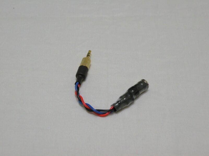 分壓型高阻線(3.5mm) - 25ohm耳機適用