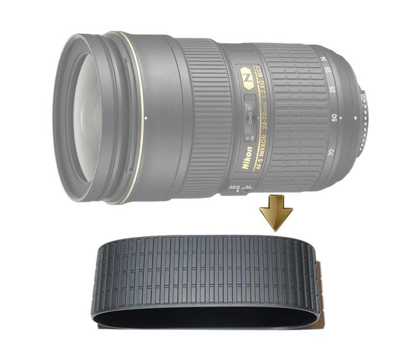 【NRC】Zoom Rubber Ring for NIKON  24-70mm F2.8G 變焦環 變焦皮
